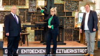 Virtuelle Eröffnung des Erlebnismuseum ZeitWerkStadt (Foto: leisureworkgroup GmbH)