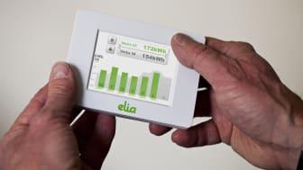 Prisbelönt display för energisparande får ansiktslyft