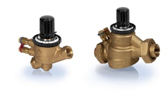 Nya tryckoberoende ventiler DN15-32