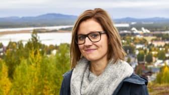 Lina Dahlbäck, ekonomichef i Malå kommun, är en av årets vinnare av Axelpriset