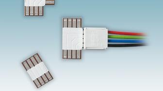 Skarvar för flexibla LED belysningar
