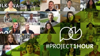 Tillsammans - för ett bättre klimatskydd #Project1Hour.