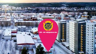 HSB planerar för cirka 70 nybyggda bostadsrätter i centrala Skellefteå