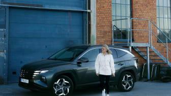 Hyundai i samarbete med Sophie Odelberg