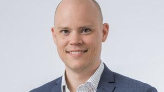 Gustaf Johansson var ansvarig för den IT-relaterade delen av Morrisprogrammet och CIO på B&B TOOLS. Idag är han vd för Momentum Group Services. Foto: Momentum Group.