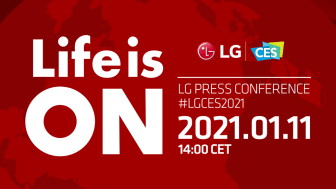 Inbjudan till LG Electronics presskonferens på CES 2021