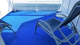 Bergo Flooring lanserar världens första IMO-godkända,  multifunktionella golvplatta.