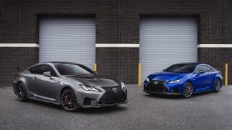 Lexus RC F og RC F Track Edition får sin debut i Detroit