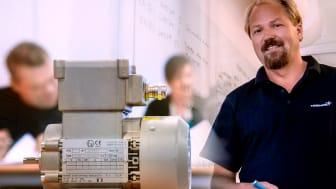 Sverre Isaksen i Trainor har lang erfaring med undervisning i Ex-temaer. Tett samarbeid med e-læringsteamet sikrer høy Ex-faglig kvalitet i det nye kurset. Foto: Heidi Storm Middleton, Trainor.