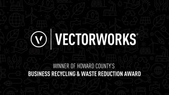 Vectorworks, Inc. Wins Howard County's Business Recycling and Waste Reduction Award