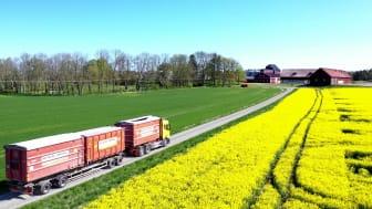 Renovas Scania Next Generation med Ecosense Trailer Assist