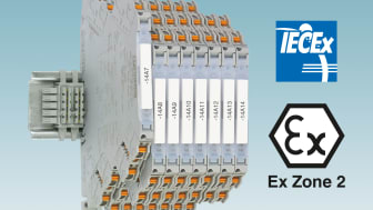International approval for highly compact signal conditioners
