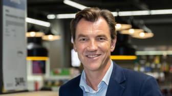 Erik G. Sønsterud, konsernsjef i Elkjøp Nordic er godt fornøyd med resultatene første halvår 2019/2020.
