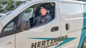Sigurd Hertzberg i Hertzberg Varmeteknikk