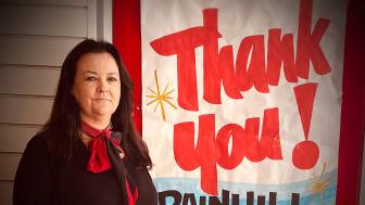 Postmaster Sara Barlow