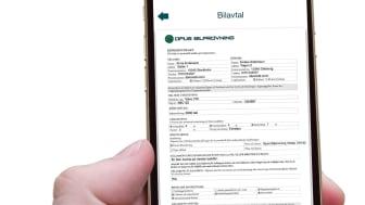 Opus Bilprovning-appen - Köp och sälj - Köpeavtal pdf-format