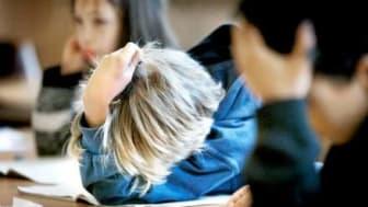 Se inte mellan fingrarna på brott i skolan