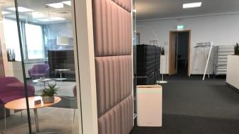 AiroDoctor® im Einsatz im Büro und Meetingraum