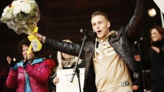 Friends och Telia utser Anton Hysén till Årets Idrottsförebild 2011