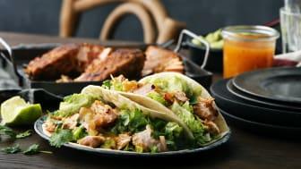 Rekommenderat att tillaga Fish Taco med lax