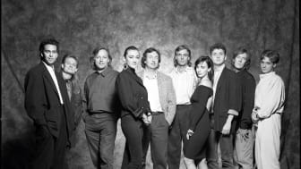 Jon Carin, Scott Page, David Gilmour, Margret (Machan) Taylor, Nick Mason, Richard Wright, Rachel Fury, Gary Wallis, Tin Renwick, Guy Pratt
