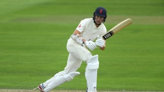 Gloucestershire and England Lions batsman James Bracey in action at the Ageas Bowl. (Getty Images)