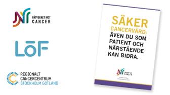 Ny broschyr från Nätverket mot cancer, LÖF och Regionalt Cancercentrum Stockholm Gotland