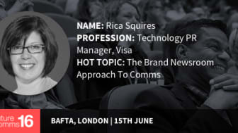 """""""Comms is changing...but don't believe the hype"""" - Rica Squires 