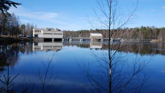 Edsforsens kraftstation i Klarälven.