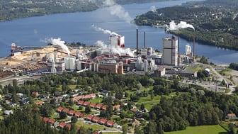 Östrands massafabrik utanför Sundsvall använder SSG On site.