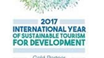 Logo til 2017 International Year of Sustainable Tourism for Development