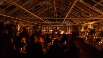 Rosensdals Trädgård släcker ner under Earth Hour. Foto: Johan Danielson