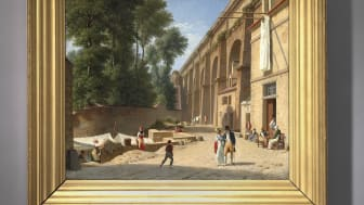 C.W. Eckersberg: The Aqueduct in Arcueil, 1812. Sold for DKK 5.6 million (€ 975,000 including buyer's premium)