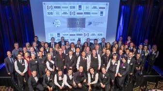Deltagare och domare i European Dealer Championship 2017