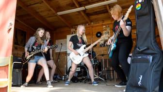 Sweden Rock-kollo hade premiär sommaren 2018. Nu blir det ett nytt kollo i samband med Sweden Rock Festival 2019. Foto: Maria G Nilsson