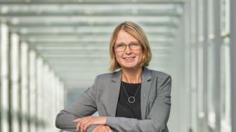 Riksbibliotekarie Karin Grönvall. Foto: Jann Lipka