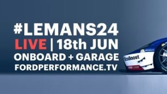 Join us Live at Le Mans 2016 | 18th June kl 14 | LIVE Onboard Cams, Garage Cams and more!