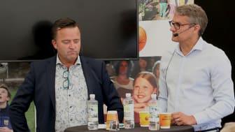 Jan Olsson, Polisens nationella bedrägericenter och Klas Lindström, 4C Strategies Group