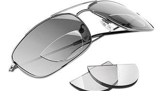 Läsrutorna är enkla att fästa och kan flyttas mellan olika glasögon.