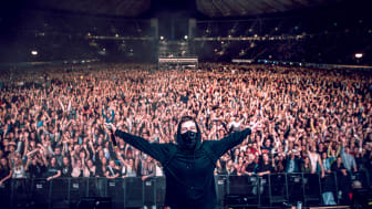 Alan Walker er klar for sin første konsert i hovedstaden, nærmere bestemt Oslo Spektrum. Foto: Jens Haugen