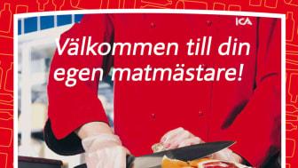Välkommen till din egen matmästare! Profileringskampanj för Malmborgsgruppen.