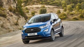 Nye Ford EcoSport får sin Europa-debut på den internasjonale bilutstillingen i Frankfurt