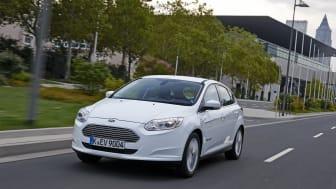 Ford Focus Electric ble nylig lansert i Norge