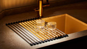 Tørkematten er smart å bruke som et tilleggsutstyr til det tradisjonelle oppvaskstativet ditt.