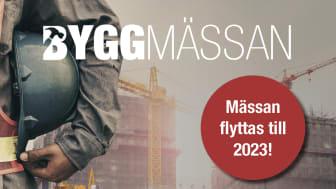 Byggmässan i Göteborg kommer tillbaka 2023