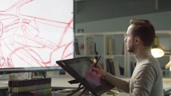 A Ford mérnökei 3 D-s CAD modell segítségével tökéletesítik a formatervet