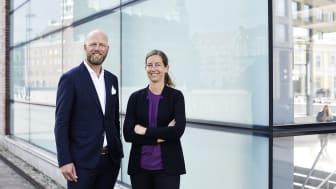 Pernilla Johansson, chefekonom, Handelskammaren och Magnus Johansson, projektledare, Industrifakta