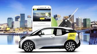 Nye Hertz BilPoolplasser på Holmlia
