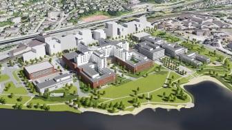 Drammens nye sykehus blir blant det fremste i Norge på behandling av somatiske og psykiatriske pasienter.