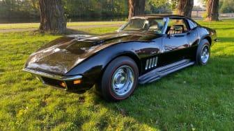 En Chevrolet Corvette utöver det vanliga finns numera i Lars Sundins ägo.